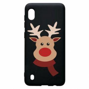 Samsung A10 Case Christmas moose