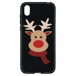 Huawei Y5 2019 Case Christmas moose