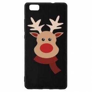 Huawei P8 Lite Case Christmas moose