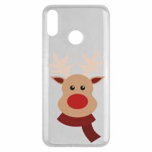 Huawei Y9 2019 Case Christmas moose