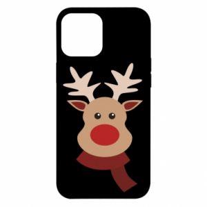 Etui na iPhone 12 Pro Max Świąteczny łoś
