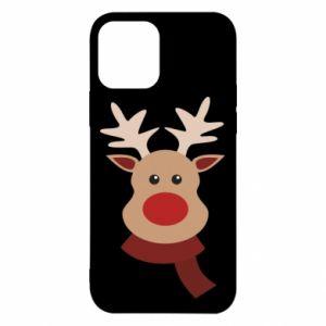 Etui na iPhone 12/12 Pro Świąteczny łoś