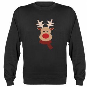 Bluza (raglan) Świąteczny łoś