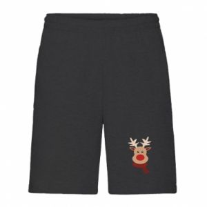 Men's shorts Christmas moose