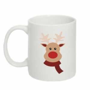 Mug 330ml Christmas moose