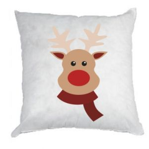 Pillow Christmas moose