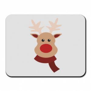 Mouse pad Christmas moose