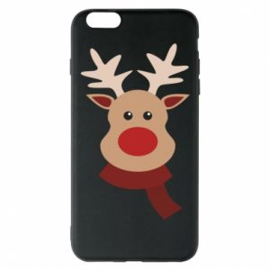 Phone case for iPhone 6 Plus/6S Plus Christmas moose