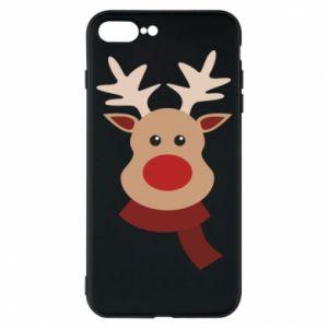 iPhone 7 Plus case Christmas moose