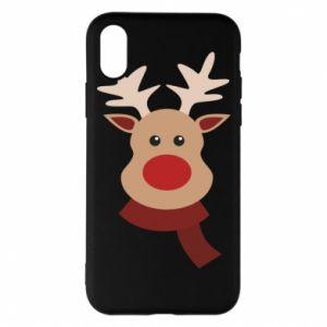 iPhone X/Xs Case Christmas moose