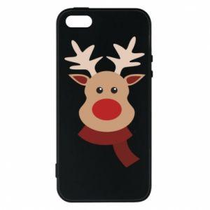 iPhone 5/5S/SE Case Christmas moose