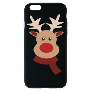 Phone case for iPhone 6/6S Christmas moose