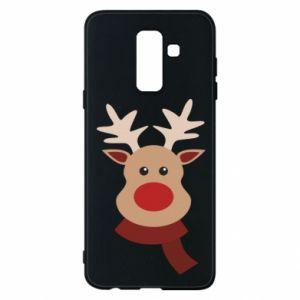 Samsung A6+ 2018 Case Christmas moose