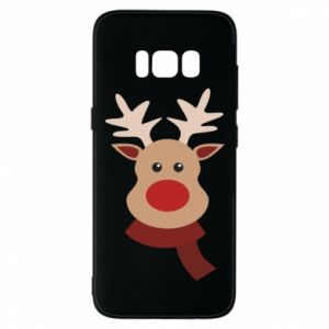 Phone case for Samsung S8 Christmas moose