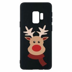 Samsung S9 Case Christmas moose