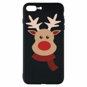 Phone case for iPhone 8 Plus Christmas moose