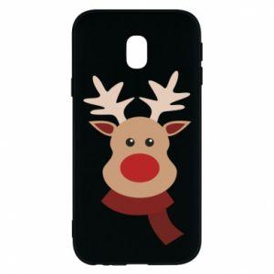 Phone case for Samsung J3 2017 Christmas moose