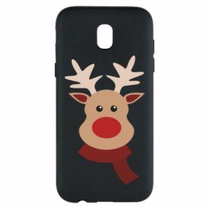 Samsung J5 2017 Case Christmas moose