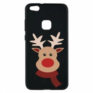Phone case for Huawei P10 Lite Christmas moose
