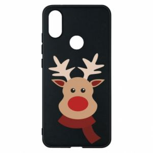 Phone case for Xiaomi Mi A2 Christmas moose