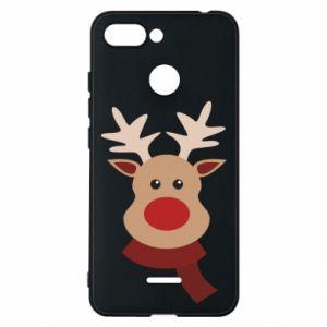 Xiaomi Redmi 6 Case Christmas moose