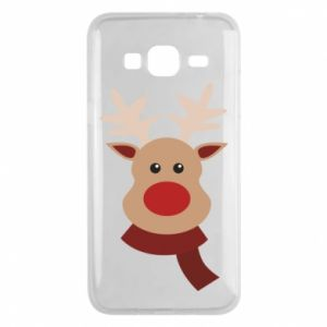 Phone case for Samsung J3 2016 Christmas moose