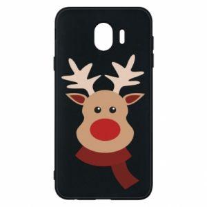 Samsung J4 Case Christmas moose