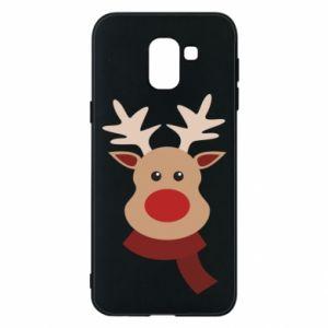 Samsung J6 Case Christmas moose
