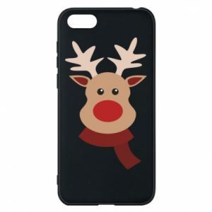 Phone case for Huawei Y5 2018 Christmas moose