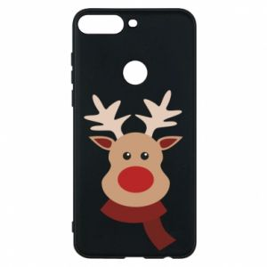 Phone case for Huawei Y7 Prime 2018 Christmas moose