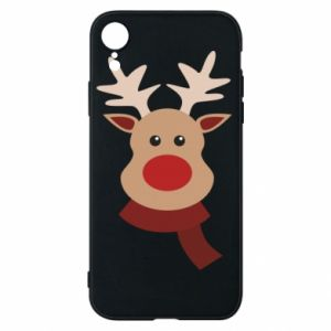 iPhone XR Case Christmas moose