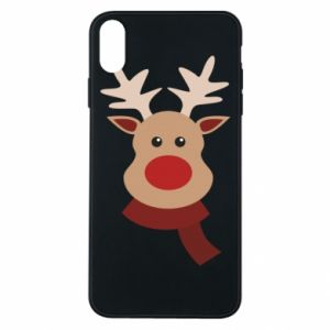iPhone Xs Max Case Christmas moose