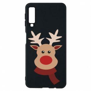 Samsung A7 2018 Case Christmas moose