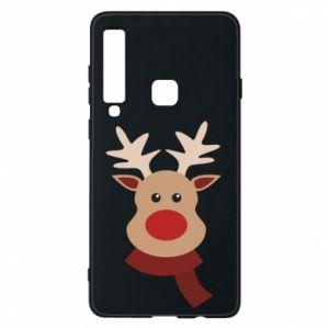 Samsung A9 2018 Case Christmas moose