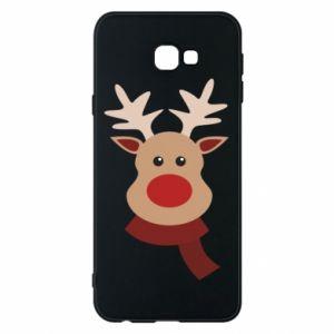 Samsung J4 Plus 2018 Case Christmas moose