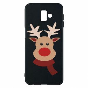 Samsung J6 Plus 2018 Case Christmas moose