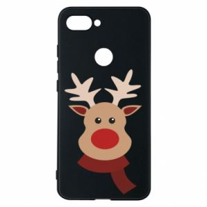 Phone case for Xiaomi Mi8 Lite Christmas moose