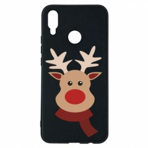 Huawei P Smart Plus Case Christmas moose