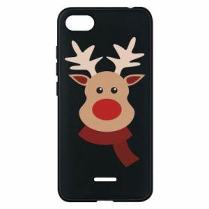 Phone case for Xiaomi Redmi 6A Christmas moose