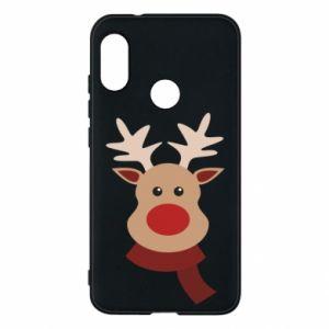 Phone case for Mi A2 Lite Christmas moose