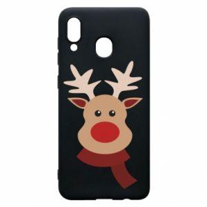 Samsung A30 Case Christmas moose