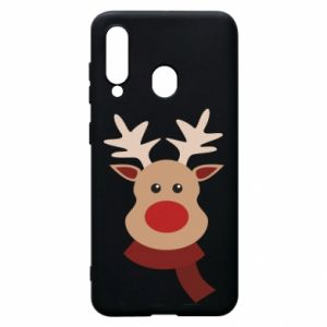 Phone case for Samsung A60 Christmas moose
