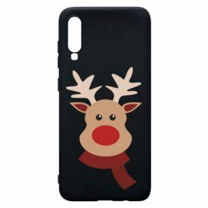 Samsung A70 Case Christmas moose