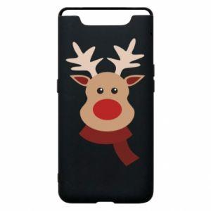 Samsung A80 Case Christmas moose