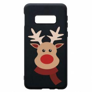 Samsung S10e Case Christmas moose