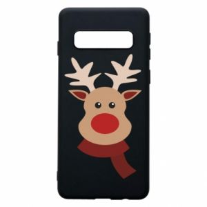 Phone case for Samsung S10 Christmas moose