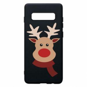 Samsung S10+ Case Christmas moose