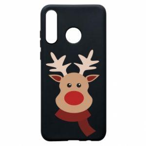 Huawei P30 Lite Case Christmas moose