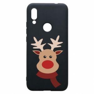 Xiaomi Redmi 7 Case Christmas moose