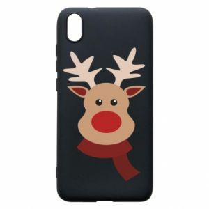 Xiaomi Redmi 7A Case Christmas moose